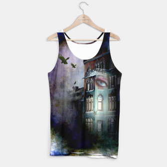 Thumbnail image of observers in the haunted house Tank Top, Live Heroes