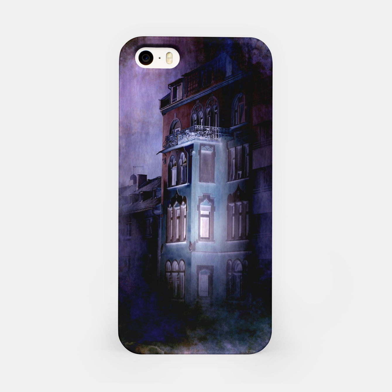 Image of the haunted house iPhone Case - Live Heroes