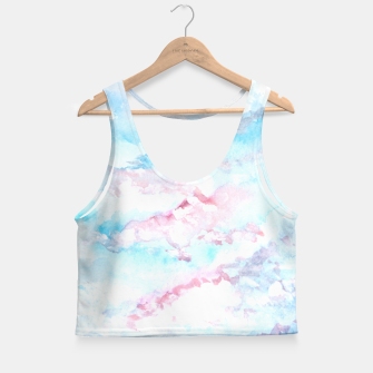 Thumbnail image of Abstract Sky Crop Top, Live Heroes