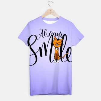 Always smile T-shirt obraz miniatury