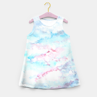 Thumbnail image of Abstract Sky Girl's Summer Dress, Live Heroes