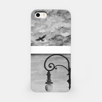 Thumbnail image of Sky anf streetlight view iPhone Case, Live Heroes