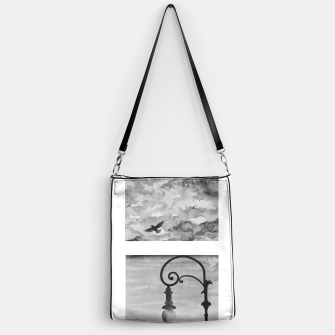 Thumbnail image of Sky anf streetlight view Handbag, Live Heroes