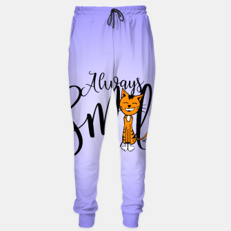 Always smile Sweatpants obraz miniatury