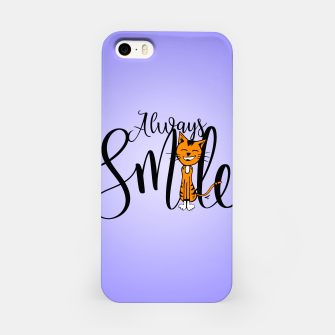 Always smile iPhone Case obraz miniatury