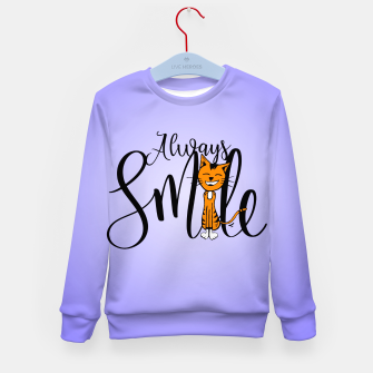 Always smile Kid's Sweater obraz miniatury