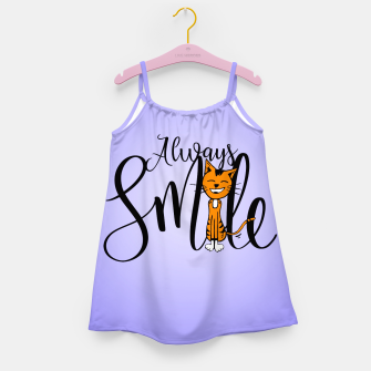 Always smile Girl's Dress obraz miniatury