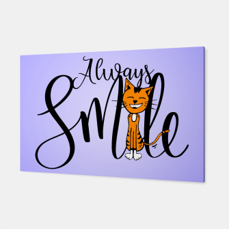 Always smile Canvas obraz miniatury