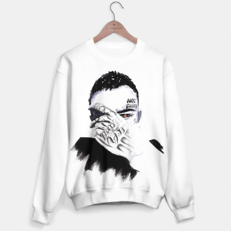 Thumbnail image of Facepalm Sweater, Live Heroes
