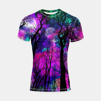 Magic forest Shortsleeve Rashguard obraz miniatury