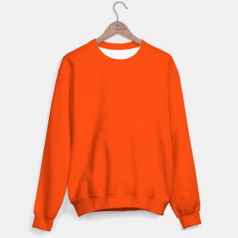 Fluorescent Attack Orange Neon Sweater imagen en miniatura
