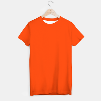 Fluorescent Attack Orange Neon T-shirt imagen en miniatura
