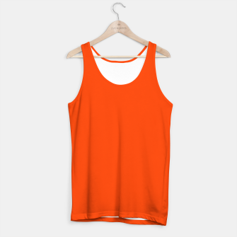 Fluorescent Attack Orange Neon Tank Top imagen en miniatura