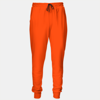 Fluorescent Attack Orange Neon Sweatpants imagen en miniatura