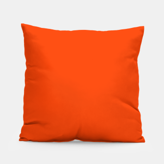 Fluorescent Attack Orange Neon Pillow imagen en miniatura