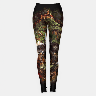 Thumbnail image of Skull Castle Leggings, Live Heroes