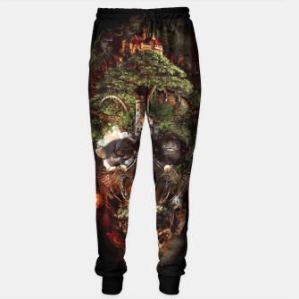 Thumbnail image of Skull Castle Sweatpants, Live Heroes