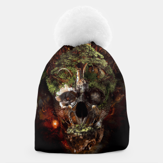 Thumbnail image of Skull Castle Beanie, Live Heroes