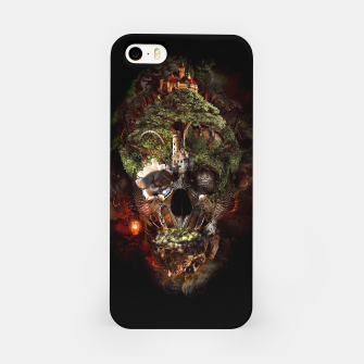 Miniatur Skull Castle iPhone Case, Live Heroes