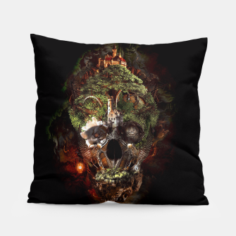 Thumbnail image of Skull Castle Pillow, Live Heroes