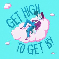 Get High To Get By logo