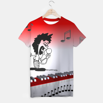 Thumbnail image of a song for you T-shirt, Live Heroes