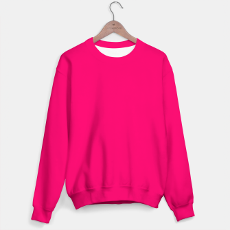 Bright Fluorescent Pink Neon Sweater thumbnail image