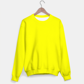Bright Fluorescent Yellow Neon Sweater thumbnail image