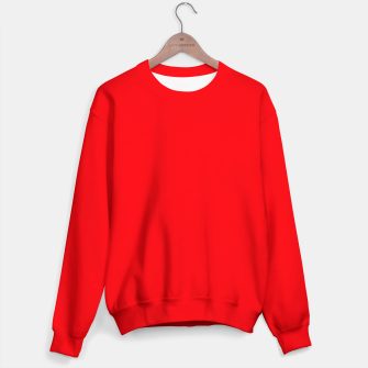 Fluorescent Fireball Red Neon Sweater thumbnail image
