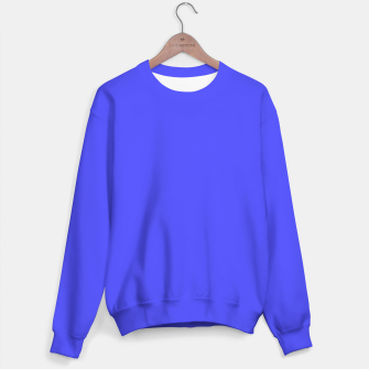 Electric Fluorescent Blue Neon Sweater thumbnail image