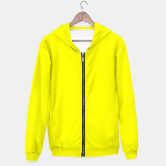Bright Fluorescent Yellow Neon Hoodie thumbnail image