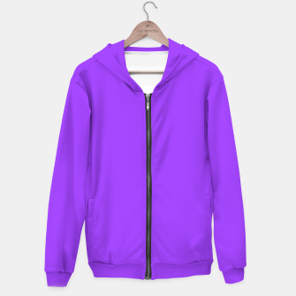 Fluorescent Day glo Purple Neon Hoodie thumbnail image