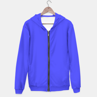 Electric Fluorescent Blue Neon Hoodie thumbnail image