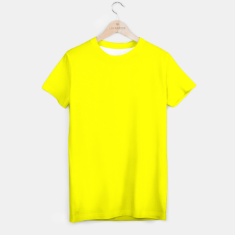 Bright Fluorescent Yellow Neon T-shirt thumbnail image