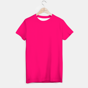 Bright Fluorescent Pink Neon T-shirt thumbnail image