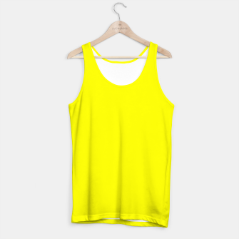 Bright Fluorescent Yellow Neon Tank Top thumbnail image