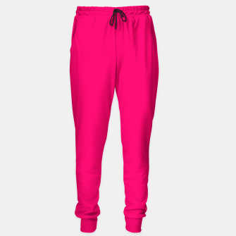 Bright Fluorescent Pink Neon Sweatpants thumbnail image