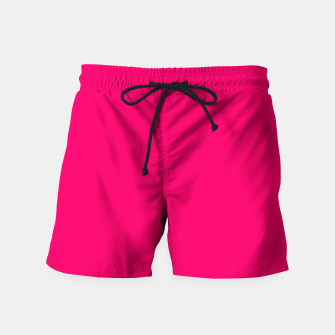 Bright Fluorescent Pink Neon Swim Shorts thumbnail image