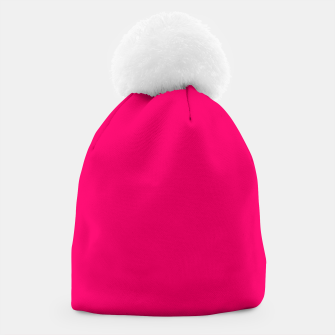 Bright Fluorescent Pink Neon Beanie thumbnail image