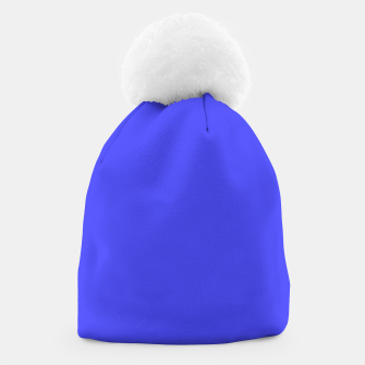Electric Fluorescent Blue Neon Beanie thumbnail image
