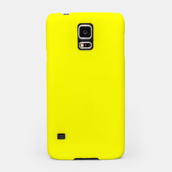 Bright Fluorescent Yellow Neon Samsung Case thumbnail image