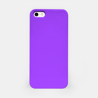 Fluorescent Day glo Purple Neon iPhone Case imagen en miniatura