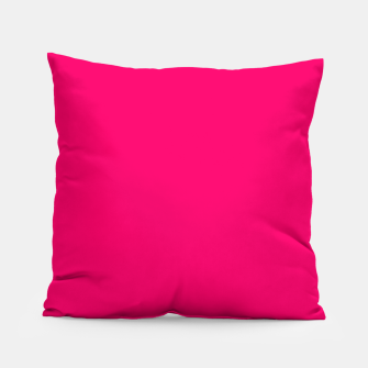 Bright Fluorescent Pink Neon Pillow thumbnail image
