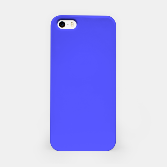 Electric Fluorescent Blue Neon iPhone Case thumbnail image