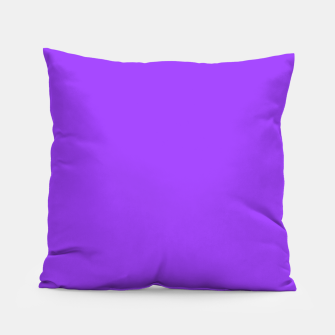 Fluorescent Day glo Purple Neon Pillow imagen en miniatura
