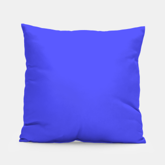 Electric Fluorescent Blue Neon Pillow thumbnail image
