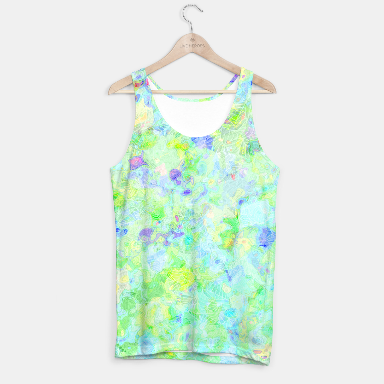 Image of clrs Tank Top - Live Heroes