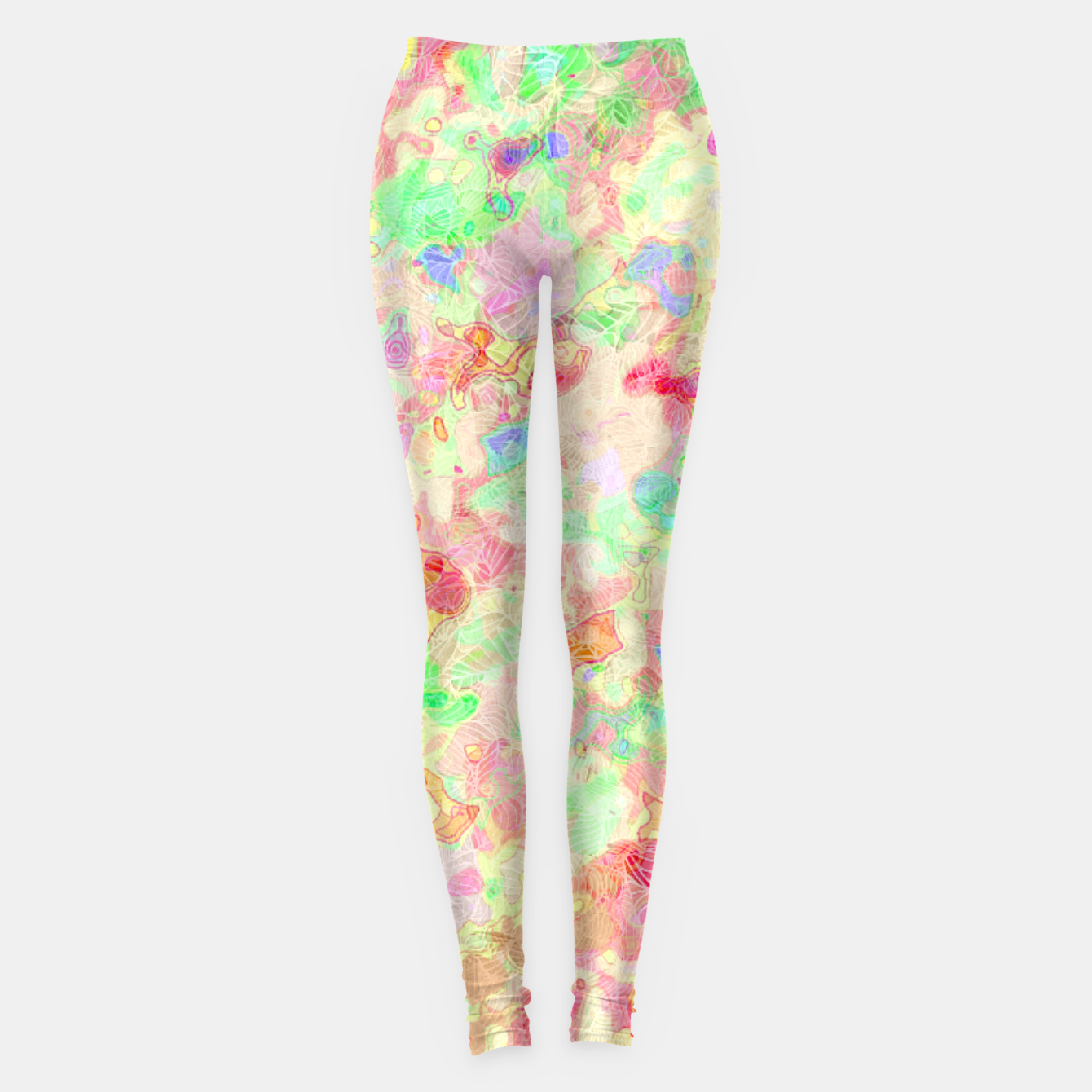 Image of clrs Leggings - Live Heroes