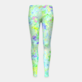 Thumbnail image of clrs Girl's Leggings, Live Heroes