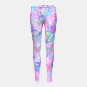 Thumbnail image of clrs Hoodie Girl's Leggings, Live Heroes